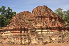 Free Pagoda In Ayuthaya Center Of Thialand Stock Image - 15796061
