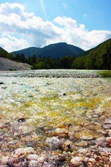 Free Amazing Ladnscape Of The Alps Taken In Slovenia Stock Images - 15796644