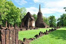 Free Sukhothai Historical Park Stock Photography - 15797032