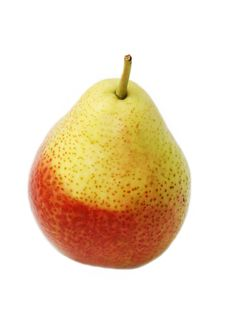 Free Single Ripe Pear Stock Photo - 15797160