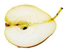 Free Pear Half Royalty Free Stock Image - 15797166