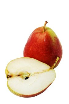 Two Ripe Pear Stock Image