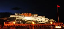 Free Potala Palace(night) Stock Image - 15798111