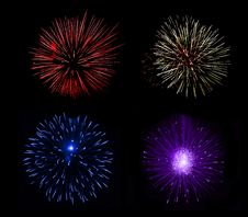 Free Fireworks Royalty Free Stock Image - 15798116