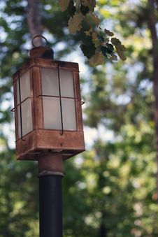 Free Vintage Lamp Post Royalty Free Stock Photo - 15799115