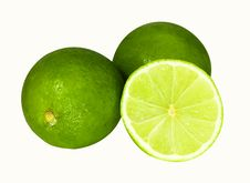 Free Two Limes And Half Stock Images - 15799304