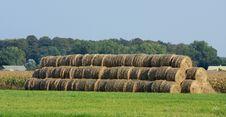 Free Hay Bales Royalty Free Stock Photos - 15799578