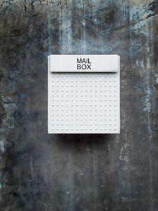 Free White Mail Box Royalty Free Stock Photo - 15799735