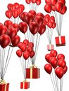Free Presents And Balloon Stock Images - 1586824