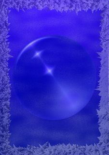Free Ice_background_sphere Royalty Free Stock Images - 1580459