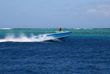Free Tahitian Fish Boat Royalty Free Stock Image - 1580556