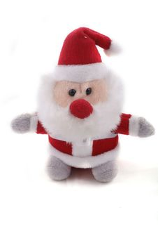 Cute Santa Claus Doll Stock Images