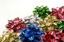 Free Gift Bows Stock Photography - 1581262