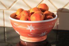 Free Orange Bowl Royalty Free Stock Image - 1581586