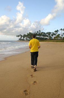 Free Beach Walk Stock Images - 1581744