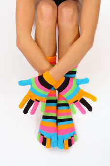Free Color Socks Royalty Free Stock Image - 1581786