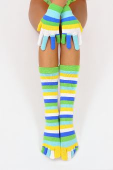 Free Color Socks Royalty Free Stock Photography - 1581827