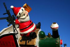 Free Loco Santa 21 Stock Photography - 1582372