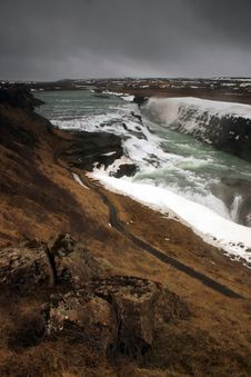 Free Gulfoss Stock Photography - 1582452