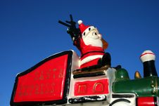 Free Loco Santa 22 Royalty Free Stock Photos - 1582588