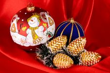Free Christmas Decorative Still Life Stock Photos - 1582803