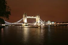 Free The Tower Bridge Royalty Free Stock Images - 1582999