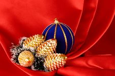 Free Christmas Decorative Still Life Royalty Free Stock Photography - 1583647