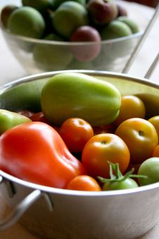 Free Capsicums And Tomatoes Royalty Free Stock Photo - 1583725