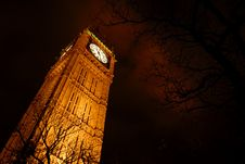 Free Big Ben At Night Royalty Free Stock Image - 1584026