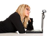 Free A Businesswoman Stock Photos - 1584493