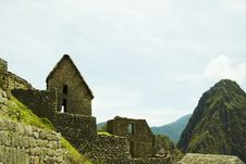 Free Incas City Machu-Picchu Royalty Free Stock Photos - 1585348