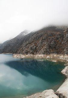Free Lake In The Mountain Royalty Free Stock Photo - 1585355