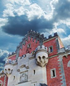 Free Red Castle Stock Photography - 1585372