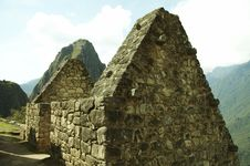 Free Ruins In The Machu-Picchu City Royalty Free Stock Photography - 1585377