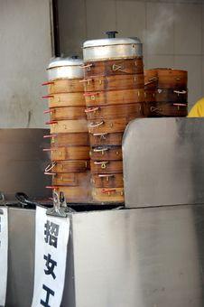 Free Steam Chinese Dumpling Stock Photo - 1586130