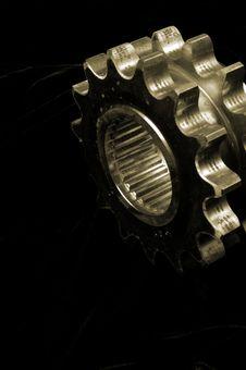 Free Golden Gears Stock Photo - 1586270