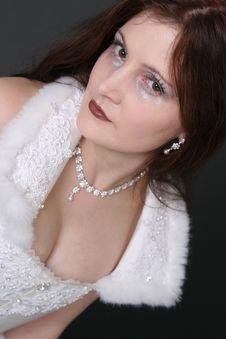Free Girl In White Robe Royalty Free Stock Photo - 1586675