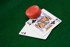 Free Card Game Stock Images - 1586704
