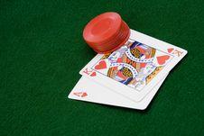 Free Card Game Royalty Free Stock Image - 1586756