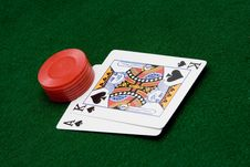 Free Card Game Stock Photography - 1586792