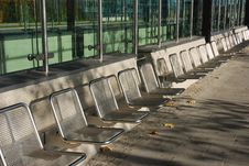 Free Empty Seats In A Row Stock Photos - 1587303