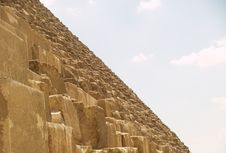 Free Pyramid Slope Royalty Free Stock Photos - 1587778