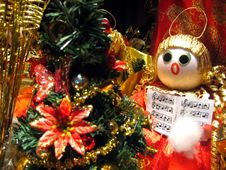 Free Christmas Decoration Royalty Free Stock Image - 1587966