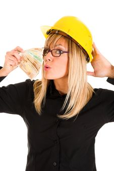 Free A Businesswoman With Earnings Stock Photography - 1589342