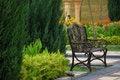 Free Garden Chair Stock Photos - 15802563