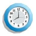 Free Abstract Glossy Clock Icon  Illustration. Royalty Free Stock Photo - 15806425