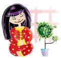 Free Japanese Girl Stock Images - 15808934