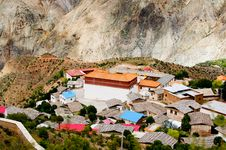 Free Tibetan Village Royalty Free Stock Photography - 15800057
