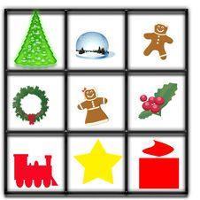 Free Christmas Window Illustration Royalty Free Stock Photography - 15800107