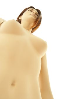 Free Female Mannequin | Isolated Royalty Free Stock Photography - 15800257